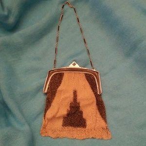 Handbags - Vintage 1920s mesh purse
